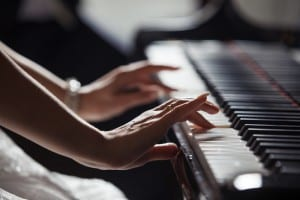 Playing piano is an example of manual dexterity