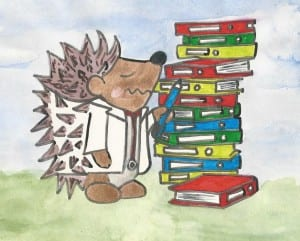 Meet the Medgehog & learn how to survive the stresses of med school
