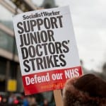 Junior Doctors Strike. Photo credit: John Gomez/ Shutterstock