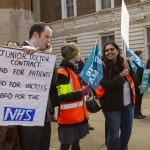 Junior doctors took part in all-out strike