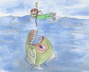 In this medical student blog, meet the Piranhacademic. Illustrated by Lynda Richardson