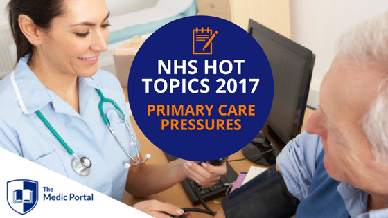 NHS Hot Topics- Primary Care Pressures