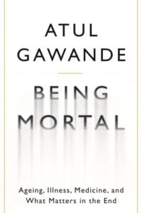Book cover of Being Mortal - books for aspiring medics