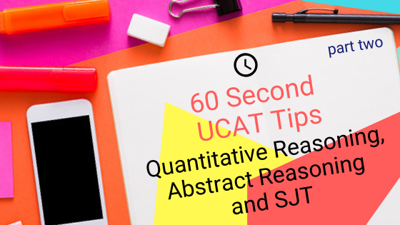 60-Second UCAT Tips: QR, AR and SJT - The Medic Portal