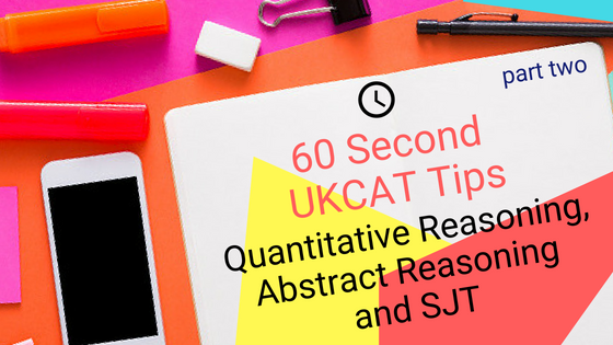 60 second ukcat tips part two